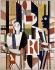 """""""Hommes dans la ville"""" (1919), by Fernand Léger (1881-1955). Venice, Peggy Guggenheim foundation. © Roger-Viollet"""