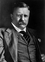 Théodore Roosevelt ( 1858-1919 ), American statesman. President of the United States from 1901 till 1909. © US National Archives / Roger-Viollet