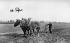Farman biplane. © Neurdein/Roger-Viollet