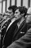 Evénements de Mai 68. Jacques Sauvageot lors de la manifestation organisée par l'U.N.E.F. Paris, stade Charlety, 27 mai 1968. © Colette Masson/Roger-Viollet