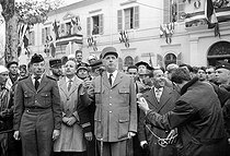 The General Charles de Gaulle (1890-1970), French statesman. Tlemcen (Algeria), on December 9, 1960.  © Roger-Viollet