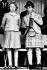 Charles (né en 1948), prince de Galles, avec sa soeur la princesse Anne (née en 1950). 9 septembre 1960. © Ullstein Bild/Roger-Viollet