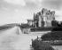 Deauville (Calvados). La promenade de la plage, villa Dolfus, vers 1900. © Neurdein / Roger-Viollet