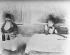 Jean-Louis Forain (1852-1931). At the restaurant (scene of Parisian life). Lithography. © Albert Harlingue/Roger-Viollet