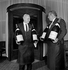 Wine Waiter of the Eiffel Tower's restaurant. Paris, 1962. © Roger-Viollet
