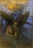 Odilon Redon (1840-1916). Old angel. Pastel and charcoal on beige paper pasted on paper, 1892-1895. Musée des Beaux-Arts de la Ville de Paris, Petit Palais. © Petit Palais/Roger-Viollet