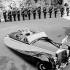 Mariage de Grace Kelly et Ranier III de Monaco. Principauté de Monaco, 19 avril 1956. © Fedele Toscani/Alinari/Roger-Viollet