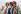 Le légendaire groupe de rock, les Rolling Stones. De gauche à droite : Charlie Watts, Mick Jagger, Ronnie Wood et Keith Richards, lors d'une conférence de presse à Van Cortlandt Park, dans le Bronx, New York là où ils ont annoncé leur tournée mondiale 2002/2003. Photo Cewzan Grayson. © TopFoto / Roger-Viollet