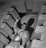 """""""Les Chevaliers de la Table Ronde"""" de Jean Cocteau. Jean Marais. Paris, théâtre de l'Oeuvre, octobre 1937. © Gaston Paris / Roger-Viollet"""