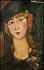 """Amedeo Modigliani (1884-1920). """"Lolotte"""". Huile sur toile, 1917. Paris, musée d'Art moderne. © Roger-Viollet"""
