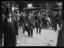 Signing of the Treaty of Versailles. Georges Clemenceau (1841-1929), French Prime Minister, arriving at the historial session. Versailles (France), on June 28 1919. © Excelsior - L'Equipe / Roger-Viollet