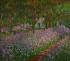 """Claude Monet (1840-1926). """"Le jardin à Giverny"""". Huile sur toile. Paris, musée d'Orsay. © Imagno / Roger-Viollet"""