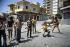 War in the Lebanon. Christian militias in Ashrafieh's district, in East Beirut. FDM-1390-1 © Françoise Demulder / Roger-Viollet