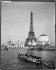 1900 World Fair in Paris. The Eiffel Tower. Paris, 1900. © Neurdein / Roger-Viollet