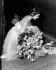 """Margot Fonteyn (1919-1991), danseuse britannique, après sa représentation dans le ballet de """"Gisèle"""". Londres (Angleterre), Covent Garden, 12 mai 1959. © TopFoto / Roger-Viollet"""