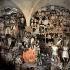 """Diego Rivera (1886-1957). """"Histoire du Mexique, de la Conquête à 1930"""", détail de la partie gauche (l'exécution de Maximilien Ier en 1867 et la révolution de Francisco Madero en 1911). Fresque, 1929-1931. Mexico (Mexique), palais national. © Iberfoto / Roger-Viollet"""
