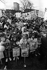 Manifestation contre la construction du tunnel sous la Manche. Lambeth (Angleterre), mars 1989. © Chris Eades / TopFoto / Roger-Viollet