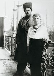Le tsar Nicolas II (1868-1918) en costume cosaque avec son fils Alexis Nikolaïevitch (1904-1918), 1914.  © Iberfoto / Roger-Viollet