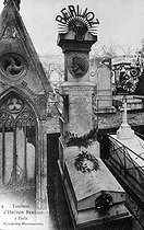 Tomb of Hector Berlioz (1803-1869), French composer. Paris, cemetery of Montmartre. © Roger-Viollet