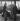 Enzo Ferrari (1898-1988), pilote automobile et industriel italien, avec deux collègues, avril 1958. © Fedele Toscani / Alinari / Roger-Viollet