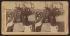 Theodore Roosevelt (1858-1919), homme d'Etat américain, prononçant un discours. Concord (New Hampshire, Etats-Unis), 1902. Vue stéréoscopique. © The Image Works / Roger-Viollet
