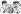 """Adolf Hitler et Staline se partageant le monde. Caricature de """"La Bataille politique et littéraire"""" du 30 avril 1947. © Roger-Viollet"""