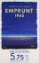 """Bernard Villemot (1911-1989). """"Electricité de France. Emprunt 1965 obligations 5,75%.... Affiche"""". Lithographie en couleur, 1965. Paris, Bibliothèque Forney.  © Bibliothèque Forney / Roger-Viollet"""