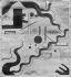 Julius Evola (1898-1974). Salon Dada, International Exposition. Paris, Galerie Montaigne, 13 avenue Montaigne. 1921. © Maurice-Louis Branger / Roger-Viollet