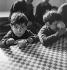 Pitiful children. © Gaston Paris / Roger-Viollet