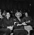 "Jean Giraudoux and Louis Jouvet attending a rehearsal of ""Electra"" by Jean Giraudoux. Paris, Théâtre de l'Athénée, 1937.   © Boris Lipnitzki / Roger-Viollet"