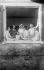 Poètes russes émigrés en France vers 1925. Ivan Chmelev (1873-1950) au centre et Konstantine Balmont (1867-1942) à droite.  © Boris Lipnitzki/Roger-Viollet