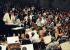 Placido Domingo (né en 1941), ténor et chef d'orchestre espagnol, dirigeant l'orchestre de Berlin (Allemagne), 21 mai 1996. © Ullstein Bild/Roger-Viollet