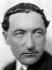 Jules Romains (1885-1972), écrivain français. France, vers 1930.  © Henri Martinie / Roger-Viollet