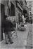 Through the streets of Paris. Montmartre, place du Tertre. Paris (XVIIIth arrondissement), 1956. Photograph by Jean Marquis (1926-2019). Bibliothèque historique de la Ville de Paris. © Jean Marquis / BHVP / Roger-Viollet