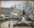 "Camille Pissarro (1830-1903). ""Le Pont-Neuf à Paris"", 1901. Copenhagen, Ny Carlsberg Glyptotek. © Roger-Viollet"