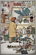 13 septembre 1944 (75 ans) : Mort de l'illustrateur britannique William Heath Robinson (1872-1944) © TCDL/The Image Works/Roger-Viollet
