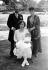 Le roi George V d'Angleterre, la reine Alexandra de Danemark, la princesse Mary et le fils de cette dernière, George Lascelles. Londres (Angleterre), Marlborough House, 28 juillet 1923. © TopFoto / Roger-Viollet