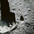 Apollo 11. Empreinte sur la surface de la lune, laissée par Edwin Aldrin (né en 1930), astronaute américain, nuit du 20 au 21 juillet 1969. © Ullstein Bild/Roger-Viollet