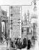 """Procession pour la cessation de la peste. Miniature tirée des """"Heures"""" des frères Limbourg. Chantilly, musée Condé. © Roger-Viollet"""