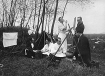 Interns of a Parisian hospital, about 1925. © Roger-Viollet