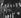 René-Louis Lafforgue, Franck Pourcel, Enrico Macias et Dick Rivers, réception à l'ORTF. Paris, février 1965. © Claude Poirier / Roger-Viollet