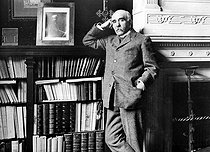 Georges Clémenceau (1841-1929), French politician, at his place, 1903. © Albert Harlingue/Roger-Viollet