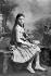 Colette (1873-1954), écrivain français, à 13 ans.        © Roger-Viollet