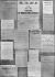 Guerre 1914-1948. Affiches de la première semaine de mobilisation sur les murs de Paris, août 1914.    © Roger-Viollet