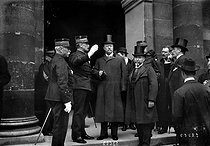 Theodore Roosevelt (1868-1919), American statesman, during a visit in Europe. Versailles (France), 1910. © Maurice-Louis Branger / Roger-Viollet