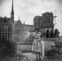 Élina Labourdette (1919-2014), actrice française. Paris, vers 1945. © Gaston Paris / Roger-Viollet