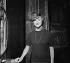 """Françoise Sagan pendant une répétition de sa pièce, """"Les Violons parfois"""". Paris, théâtre du Gymnase. Décembre 1961. © Boris Lipnitzki / Roger-Viollet"""