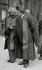 Albert Einstein (1879-1955), physicien d'origine allemande avec Edouard Herriot (1872 -1957), homme politique français, en docteur honorifique de l'université de Glasgow. 1933. © Imagno / Roger-Viollet