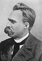 Friedrich Nietzsche (1844-1900), German philosopher. © Roger-Viollet