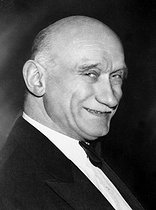 Robert Schuman (1886-1963), French politician, deputy of the Moselle. © Albert Harlingue / Roger-Viollet